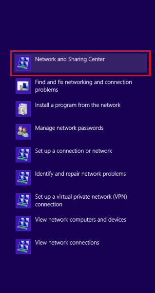 Click on Set up a new connection or network.