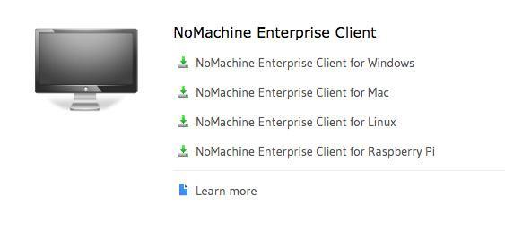 NoMachine Enterprise Client