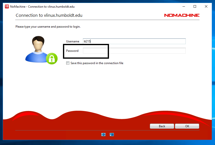 Now enter your HSU Username and Password and click OK
