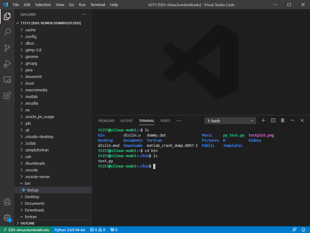 VS Code -  New terminal window in VS Code