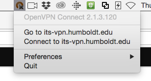 Select Go to its-vpn.humboldt.edu