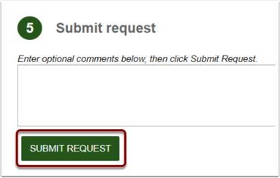 Image showing Submit Request button