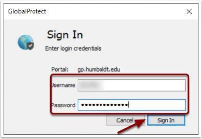 Using HSU's Virtual Private Network (GlobalProtect