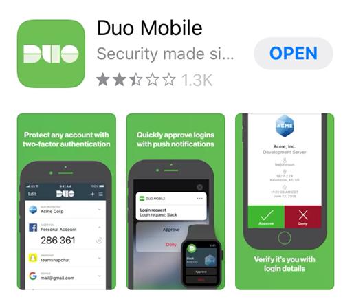Duo screenshot