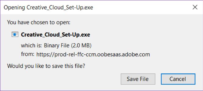 Creative Cloud exe